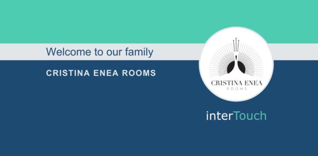 interTouch website header for Cristina Enea Rooms choosing interTouch Cast