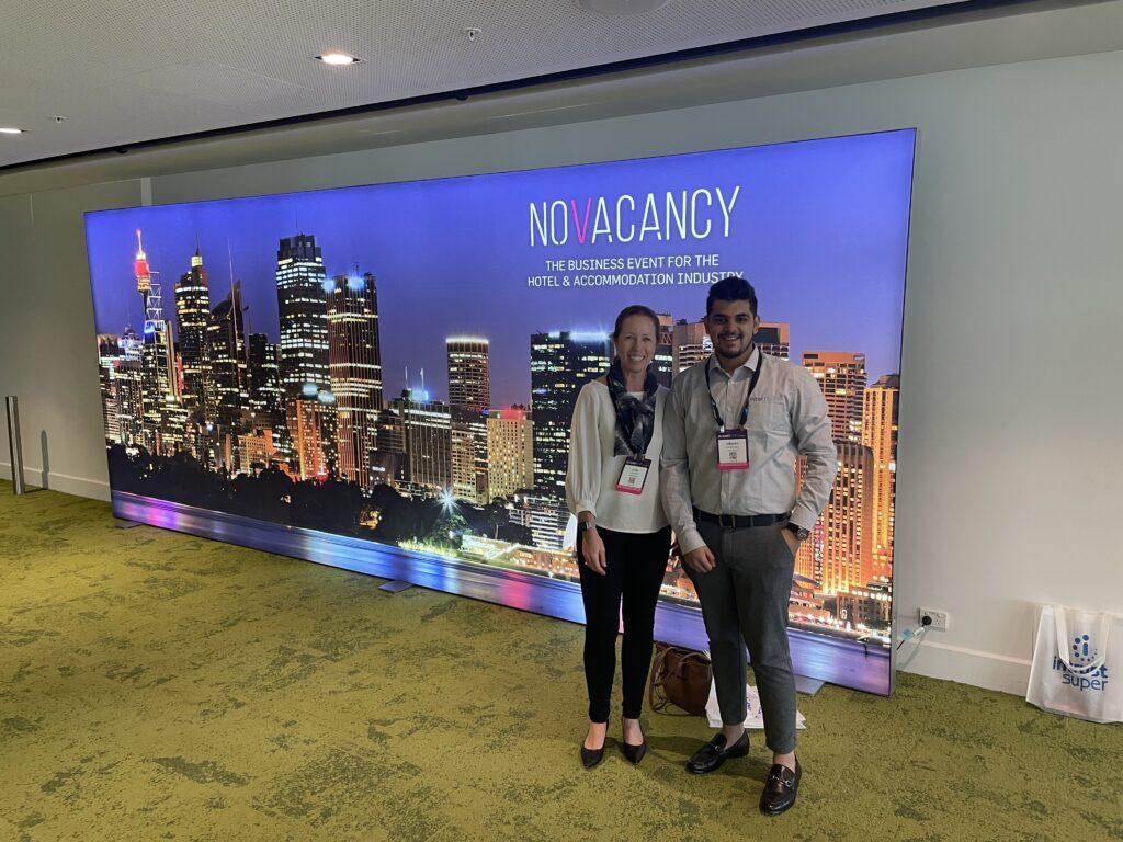 Judy and Utkarsh at No Vacancy 2021